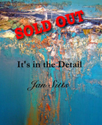 """It's in the Detail"" - An artistic book by Jan Sitts filled with art instruction and, experiments which is the perfect coffee table art book."